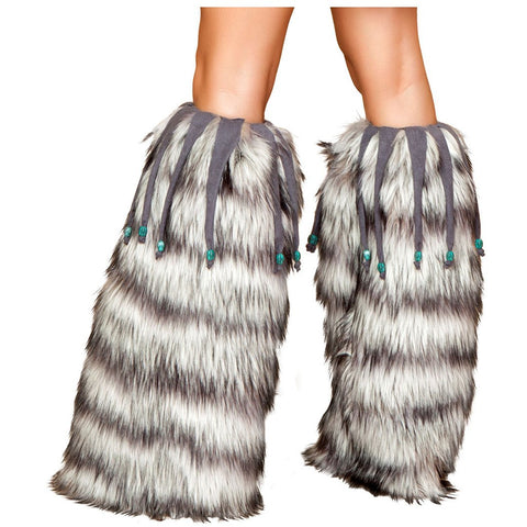Leg Warmer with Beaded Fringe - Charmed Costumes
