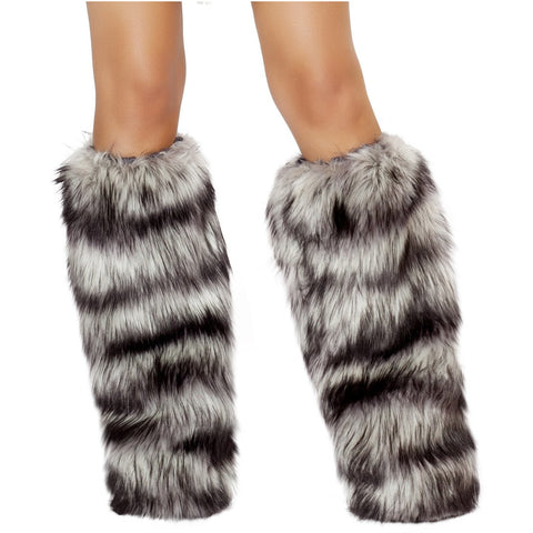 Fur Leg Warmer - Charmed Costumes