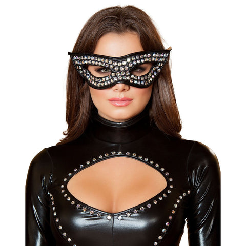 Rhinestone Mask - Charmed Costumes