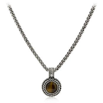 Tiger Eye Pendant Necklace - Charmed Costumes