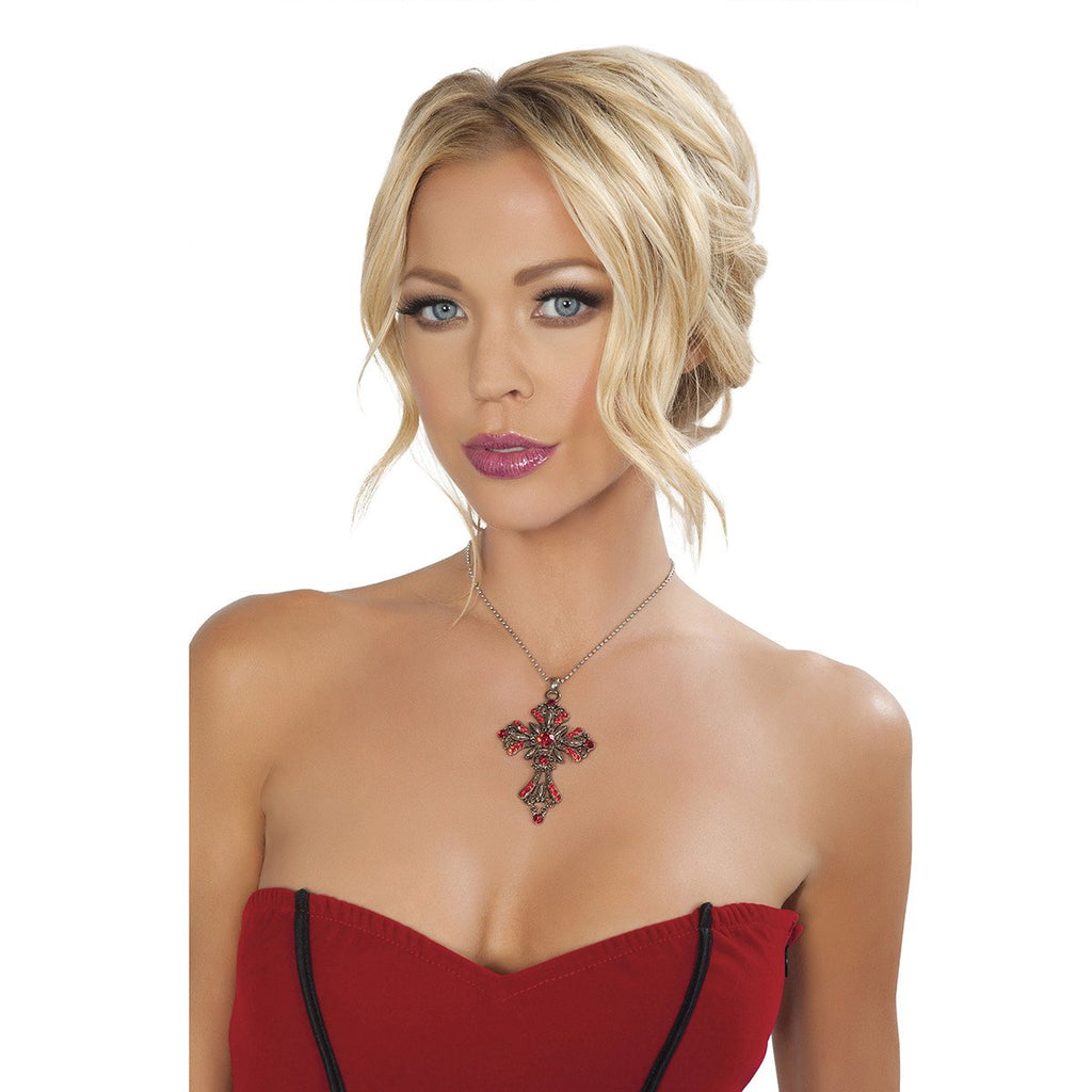 Cross Necklace - Charmed Costumes
