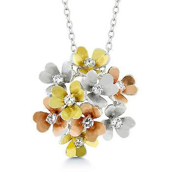 Summer Bouquet Pendant Necklace - Charmed Costumes