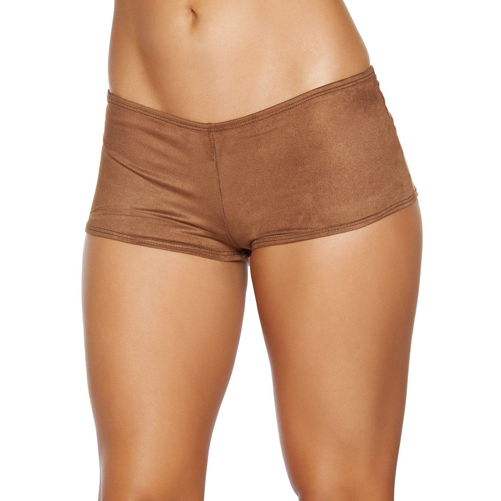 Suede Boy Shorts - Charmed Costumes