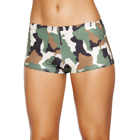 Camouflage Boy Shorts - Charmed Costumes