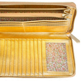 Martha Gold Faux Leather Clutch - Charmed Costumes - 2