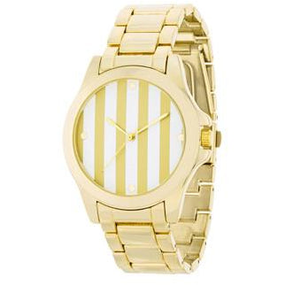 Gold Watch - Gold Stripe Dial - Charmed Costumes