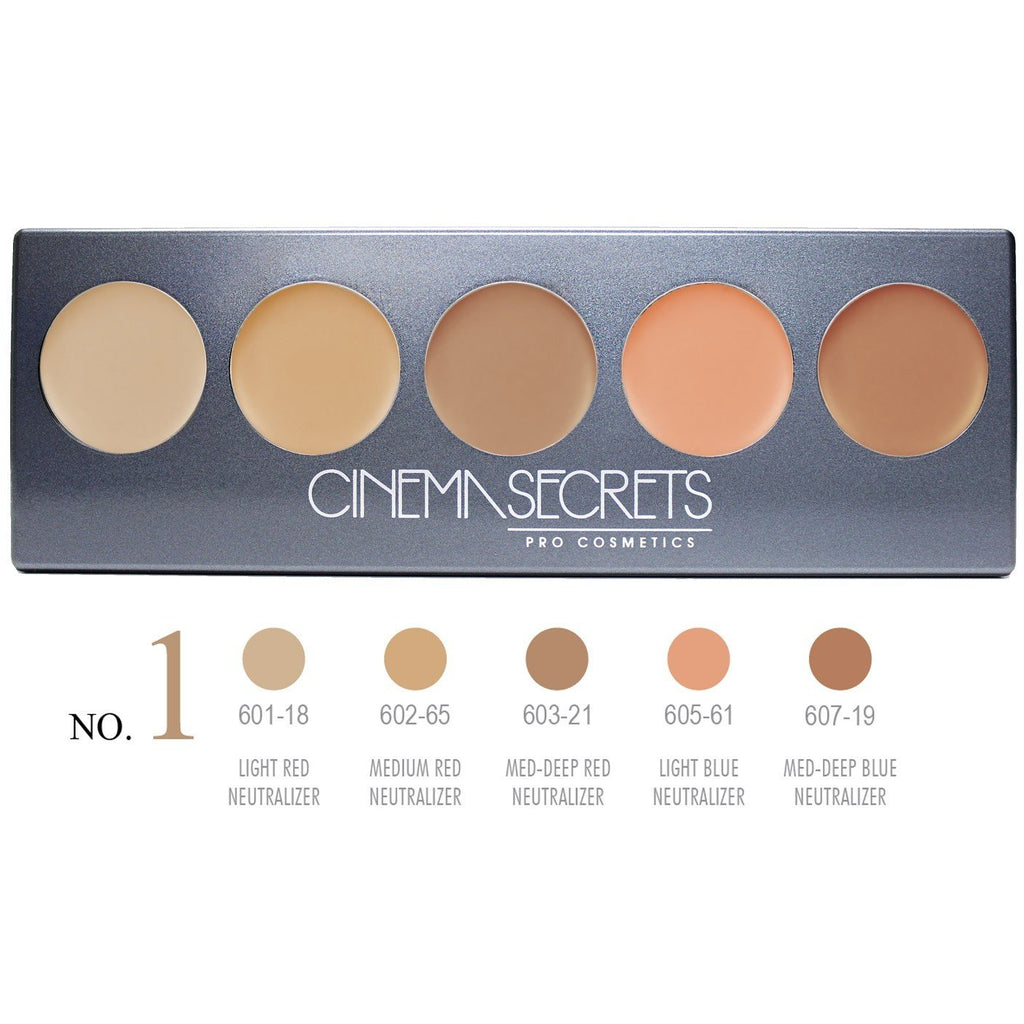 Cinema Secrets Ultimate Corrector 5-IN-1 PRO Palette, No.1™