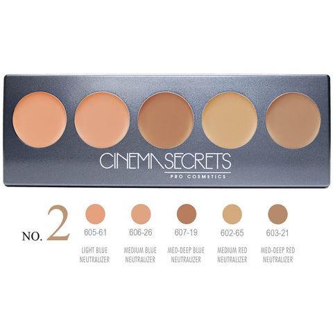 Cinema Secrets Ultimate Corrector 5-IN-1 PRO Palette, No.2 ™