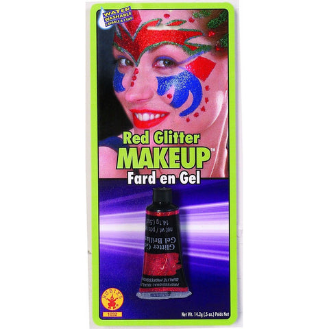 Glitter Make Up Red