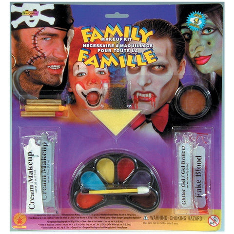Deluxe Family Halloween Make Up Kit