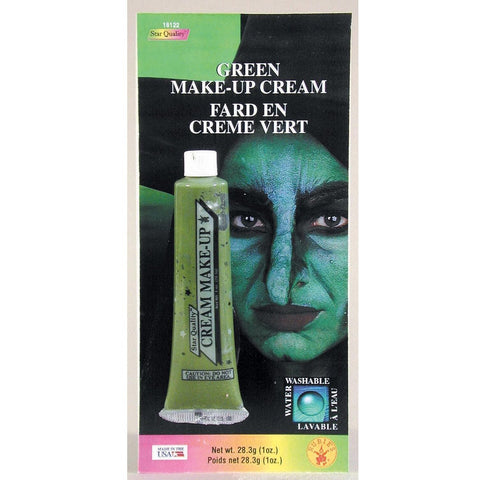 Rubie's Green Cream Make - Up