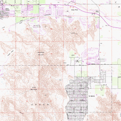 7 5 Minute Series Topographic Maps Desert Map And Aerial Photo