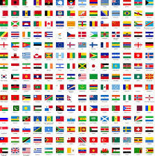 Central Europe Flags