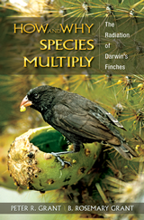 How and Why Species Multiply - The Radiation of Darwin's Finches