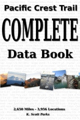 Pacific Crest Trail Complete Data Book
