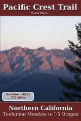 Pacific Crest Trail Pocket Maps - Northern California, Tuolumne Meadow to I-5 Oregon