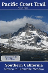 Pacific Crest Trail Pocket Maps - Southern California, Mexico to Tuolumne Meadow