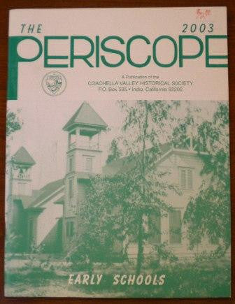 The 2003 Periscope -Early Schools