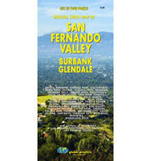 Detailed Street Map of San Fernando Valley