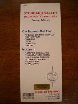 Stoddard Valley Backcountry Trail Map