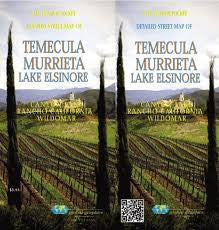 Detailed Street Map of Temecula/Murrieta/Lake Elsinore