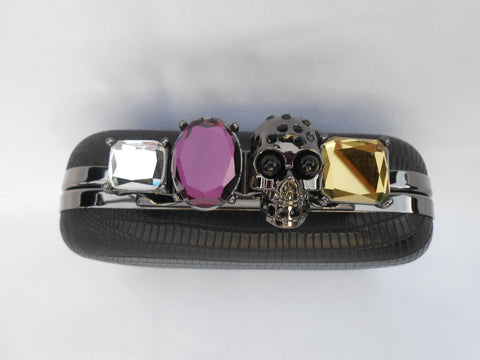 Skull Knuckle Duster Ring Clutch