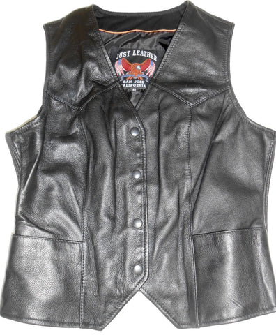 Women's Snap Front Elastic Riding Vest