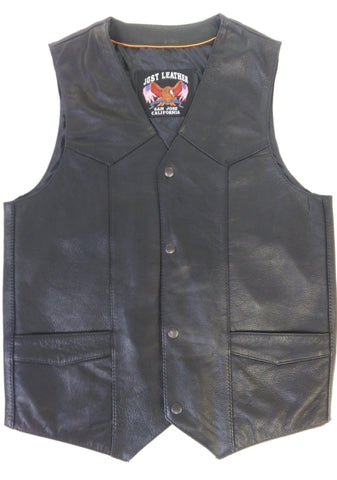 Men's Solid Dress Vest