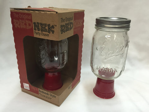 RedNek Mason Jar/Shot Glass Combo