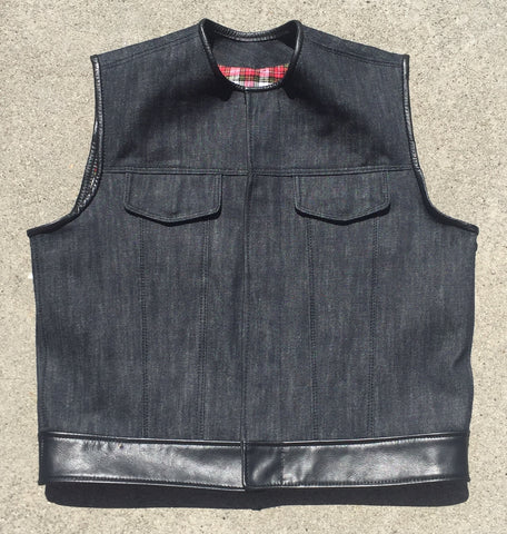 Denim Club Cut Vest