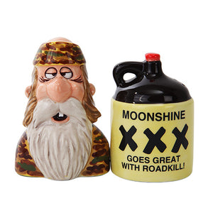 Moonshine Salt & Pepper Shakers