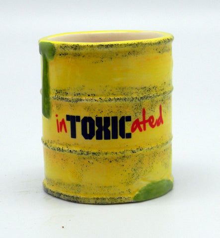 "Shot Glass 3oz ""Intoxicated"""