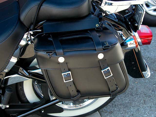 Sportster/Fat Boy Bags with Full Straps