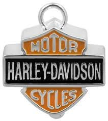 Standard Orange Harley Bar and Shield Bell