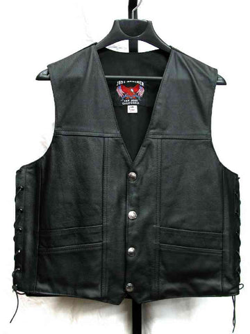 Men's Western Straight-Bottom Vest