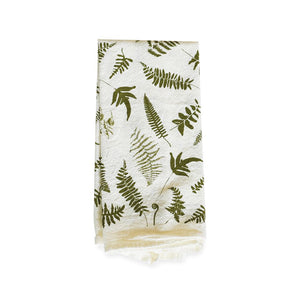 June & December - Fallen Ferns Napkin, Set of 4