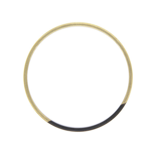 Circle Patina Colorblock Bangle Bracelets