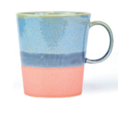 Mug in Periwinkle/Peach