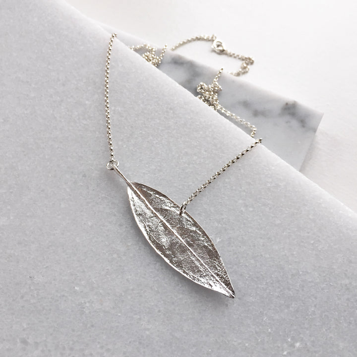 Sage Leaf Necklace