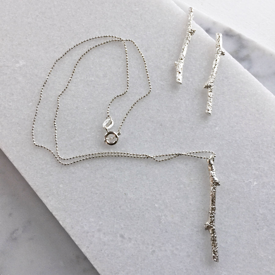 Winter Twig Necklace