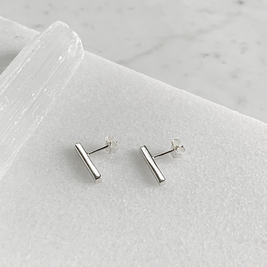 Bar Post Earrings