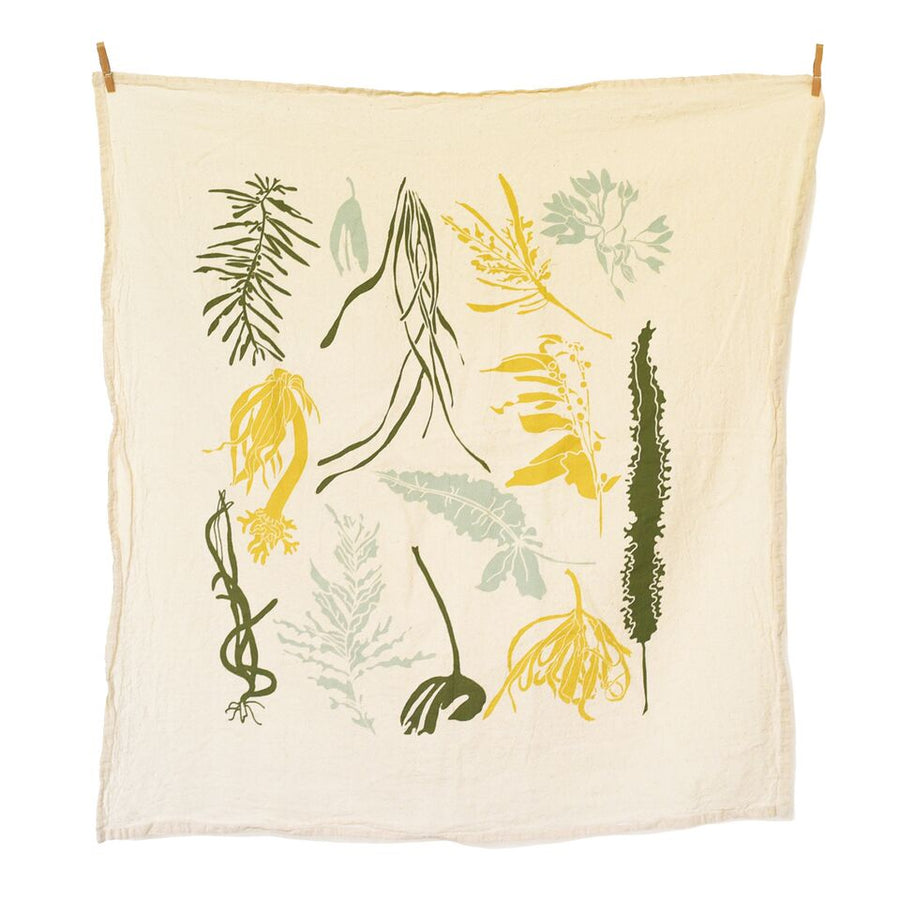 June & December - Pacific Seaweeds Towel