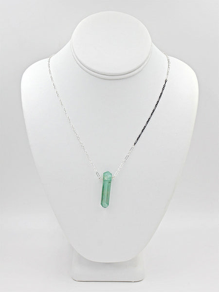 Crystal Bi-Color Necklace