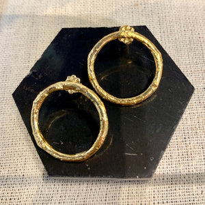 Twig Ring Earrings