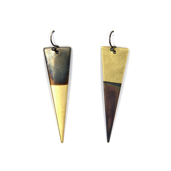 Dagger Colorblock Earrings