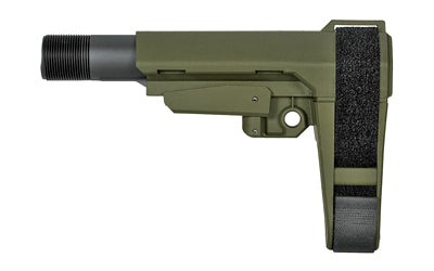 SB TACTICAL SBA3 PISTOL STABILIZING BRACE, Green