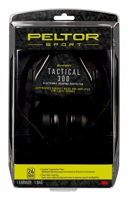 Peltor?äó Sport Tactical 300 Electronic Hearing Protector