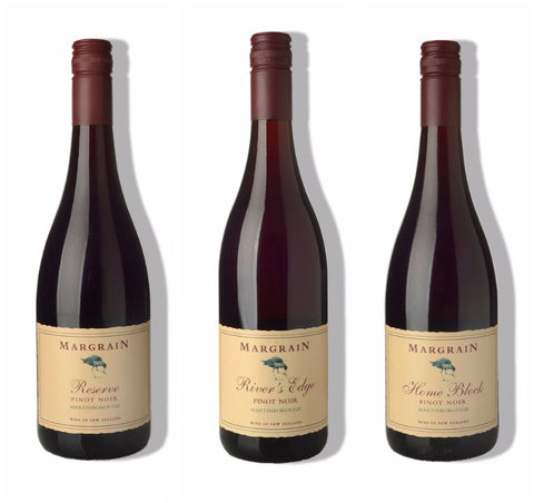Margrain Pinot Noir Triple Pack