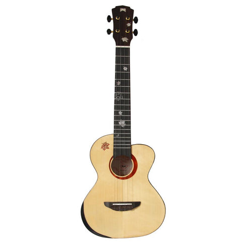 Mr Mai MD-T Solid Spruce Top Tenor Ukulele - Freebirdmusic