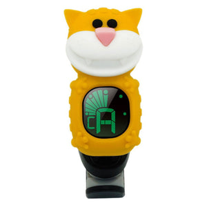 Swiff B72 Yellow Cat Chromatic Ukulele Tuner - Freebirdmusic